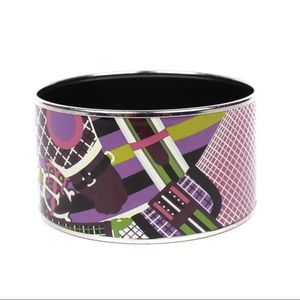 Authentic Hermes Enamel Bangle or Cuff